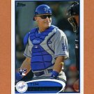 2012 Topps Baseball #253 Tim Federowicz RC - Los Angeles Dodgers