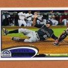 2012 Topps Baseball #231 Dexter Fowler - Colorado Rockies