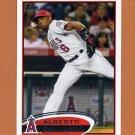 2012 Topps Baseball #189 Alberto Callaspo - Los Angeles Angels