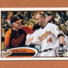 2012 Topps Baseball #176 Nolan Reimold - Baltimore Orioles