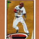 2012 Topps Baseball #173A Ryan Roberts - Arizona Diamondbacks