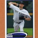 2012 Topps Baseball #068 Jason Hammel - Colorado Rockies