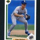1991 Upper Deck Baseball #574 Edgar Martinez - Seattle Mariners