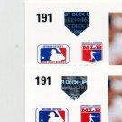 1991 Upper Deck Baseball #191 John Russell - Texas Rangers Regular and Variation Holograms