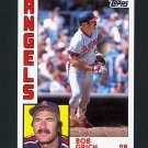1984 Topps Baseball #315 Bob Grich - California Angels