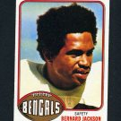 1976 Topps Football #449 Bernard Jackson RC - Cincinnati Bengals