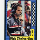 1991 Maxx Racing #219 Kirk Shelmerdine