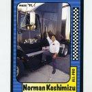 1991 Maxx Racing #210 Norman Koshimizu