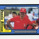 1991 Maxx Racing #117 Donnie Allison