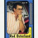 1991 Maxx Racing #101 Rod Osterlund
