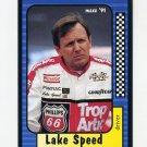 1991 Maxx Racing #083 Lake Speed