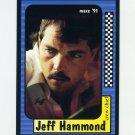1991 Maxx Racing #029 Jeff Hammond - ExMt