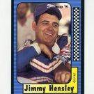 1991 Maxx Racing #020 Jimmy Hensley