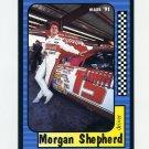 1991 Maxx Racing #015 Morgan Shepherd