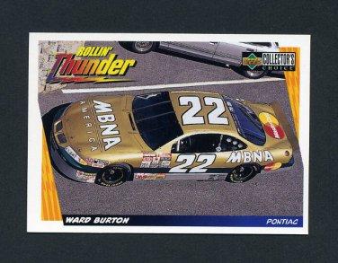 1998 Collector's Choice Racing #058 Ward Burton's Car