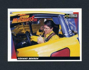 1998 Collector's Choice Racing #030 Johnny Benson