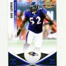 2011 Panini Gridiron Gear Silver X's Football #027 Ray Lewis - Baltimore Ravens 201/250