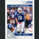 2011 Score Football #128 Peyton Manning - Indianapolis Colts