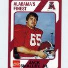 1989 Alabama Coke 580 Football #575 Jack Smalley Jr. - Alabama Crimson Tide