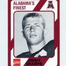 1989 Alabama Coke 580 Football #573 Jimmy Sharpe - Alabama Crimson Tide