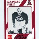 1989 Alabama Coke 580 Football #563 Jack Rutledge - Alabama Crimson Tide
