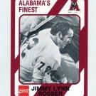 1989 Alabama Coke 580 Football #560 Jimmy Lynn Rosser - Alabama Crimson Tide