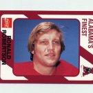 1989 Alabama Coke 580 Football #558 Ron Robertson - Alabama Crimson Tide
