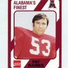 1989 Alabama Coke 580 Football #548 Pat Raines - Alabama Crimson Tide