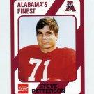 1989 Alabama Coke 580 Football #538 Steve Patterson - Alabama Crimson Tide