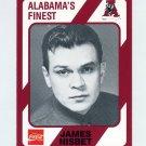1989 Alabama Coke 580 Football #531 James Nisbet - Alabama Crimson Tide