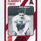 1989 Alabama Coke 580 Football #528 Frank Mosely - Alabama Crimson Tide
