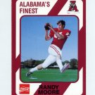 1989 Alabama Coke 580 Football #525 Randy Moore - Alabama Crimson Tide