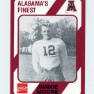 1989 Alabama Coke 580 Football #524 Jimmie Moore - Alabama Crimson Tide