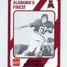 1989 Alabama Coke 580 Football #521 Dewey Mitchell - Alabama Crimson Tide