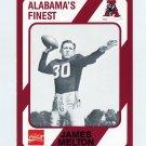 1989 Alabama Coke 580 Football #518 James Melton - Alabama Crimson Tide