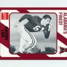 1989 Alabama Coke 580 Football #507 Harry Lee - Alabama Crimson Tide