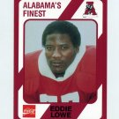 1989 Alabama Coke 580 Football #503 Eddie Lowe - Alabama Crimson Tide