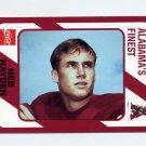 1989 Alabama Coke 580 Football #479 Neb Hayden - Alabama Crimson Tide