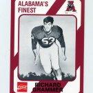 1989 Alabama Coke 580 Football #474 Richard Grammer - Alabama Crimson Tide