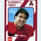 1989 Alabama Coke 580 Football #456 Joe Dismuke - Alabama Crimson Tide