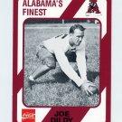 1989 Alabama Coke 580 Football #454 Joe Dildy - Alabama Crimson Tide