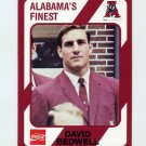1989 Alabama Coke 580 Football #447 David Bedwell - Alabama Crimson Tide
