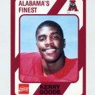 1989 Alabama Coke 580 Football #443 Kerry Goode - Alabama Crimson Tide