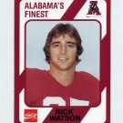 1989 Alabama Coke 580 Football #387 Rick Watson - Alabama Crimson Tide