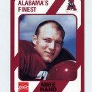 1989 Alabama Coke 580 Football #378 Mike Hand - Alabama Crimson Tide