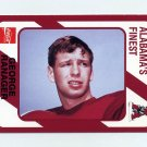 1989 Alabama Coke 580 Football #374 George Ranager - Alabama Crimson Tide