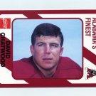 1989 Alabama Coke 580 Football #373 David Chatwood - Alabama Crimson Tide
