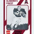 1989 Alabama Coke 580 Football #362 Tommy White - Alabama Crimson Tide