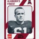 1989 Alabama Coke 580 Football #345 Hal Self - Alabama Crimson Tide