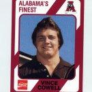 1989 Alabama Coke 580 Football #336 Vince Cowell - Alabama Crimson Tide